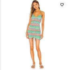 Lovers and Friends Augusta Mini Dress, Neon Multi